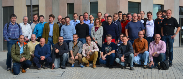 SkySQL Developers Meeting participants in Barcelona